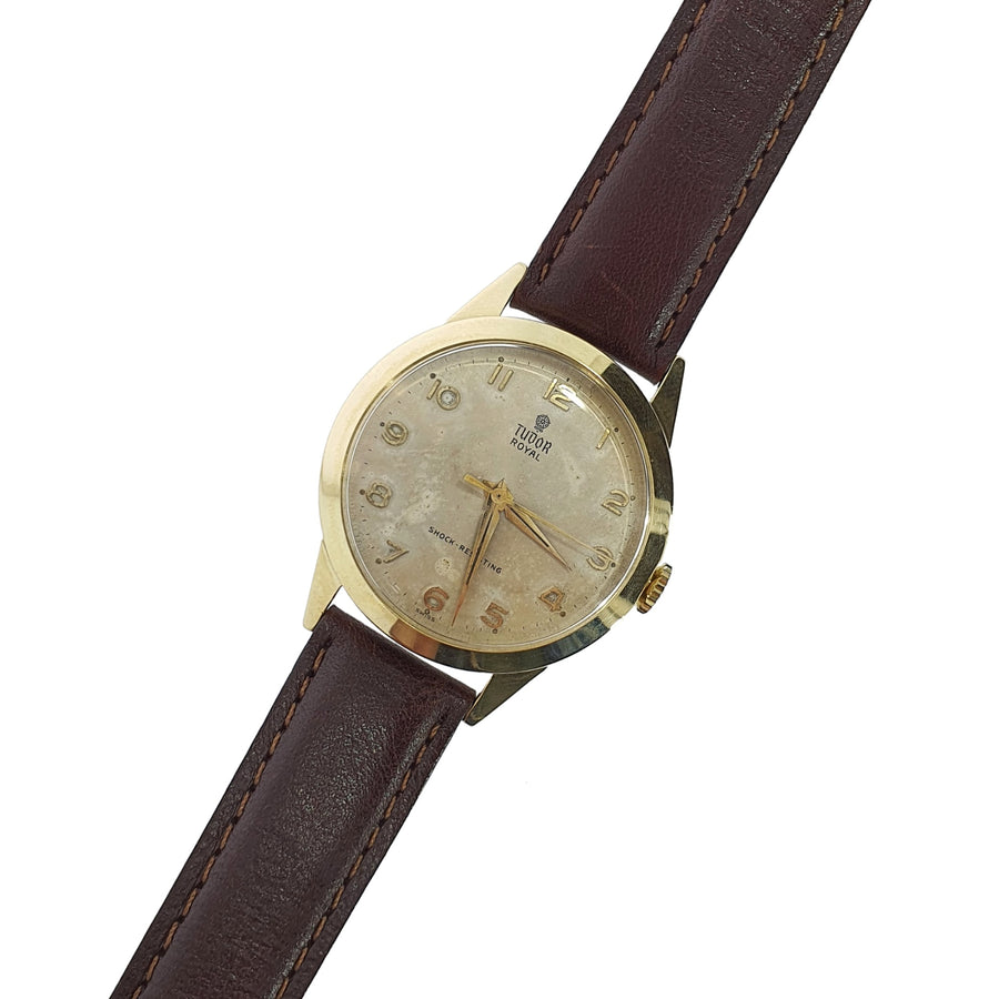 Vintage 9ct Tudor Royal Wristwatch