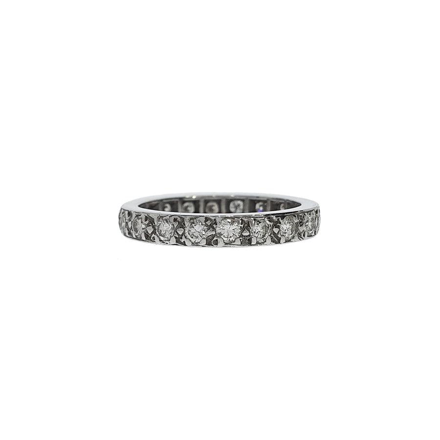 1.20ct Vintage Diamond Full Eternity Ring