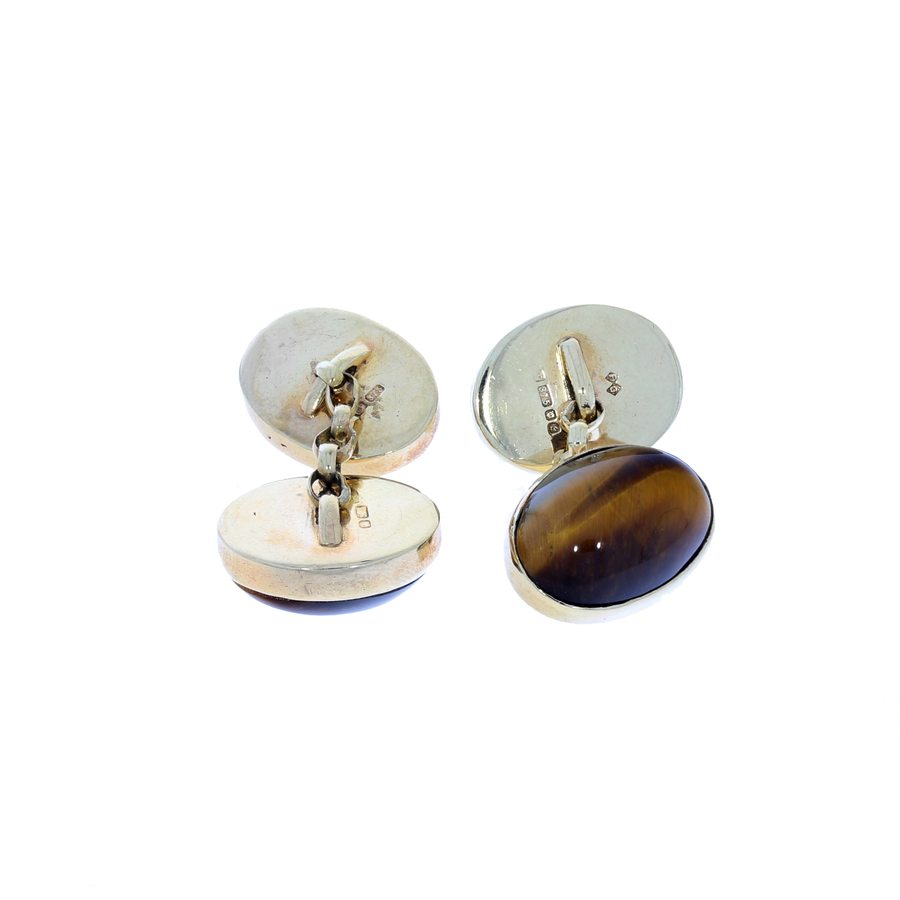 Tiger's Eye Cufflinks
