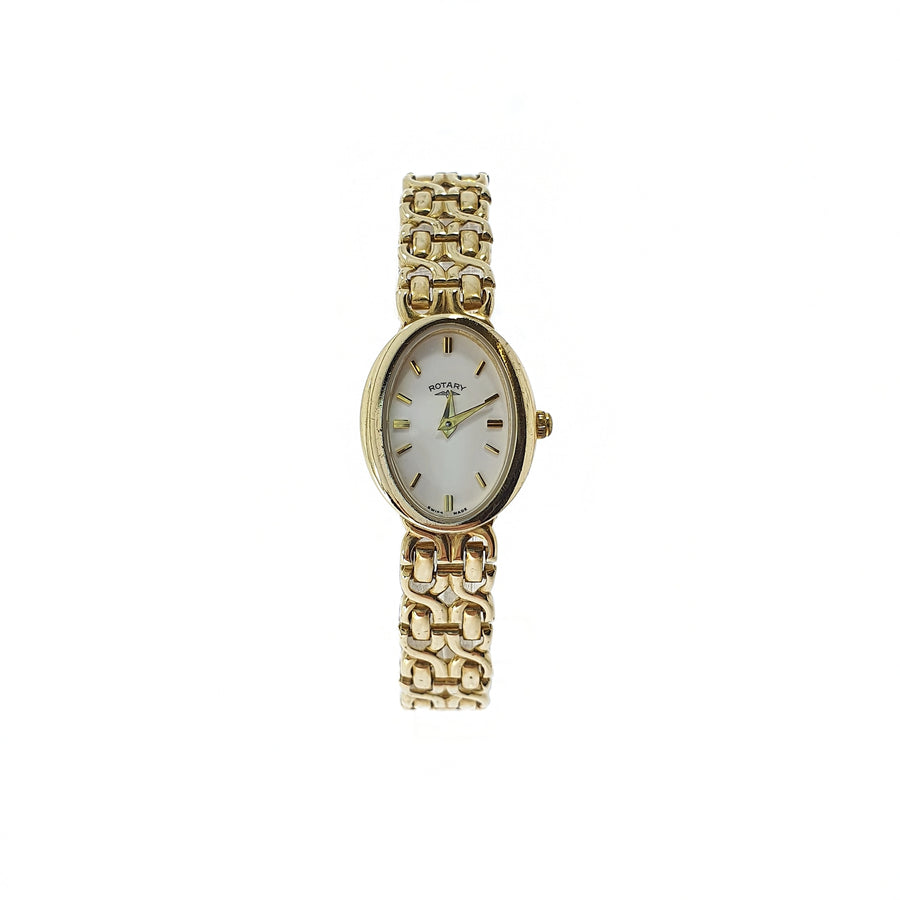 Ladies 9ct Gold Rotary Wristwatch