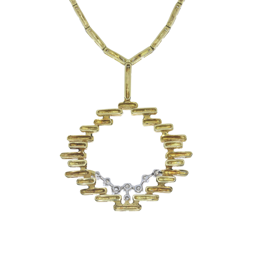1970s Diamond Necklace