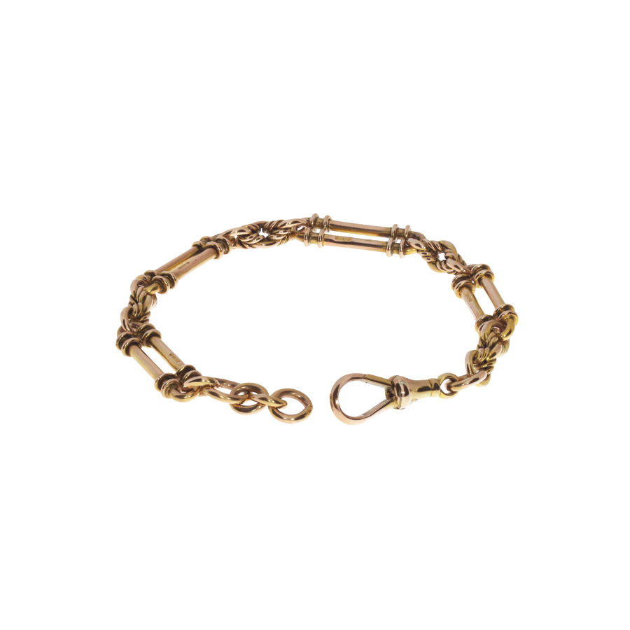 Antique Rose Gold Bracelet