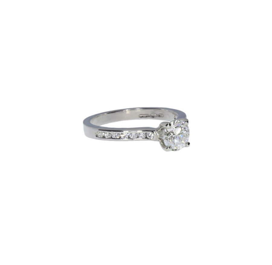 0.64ct Diamond Solitaire Ring