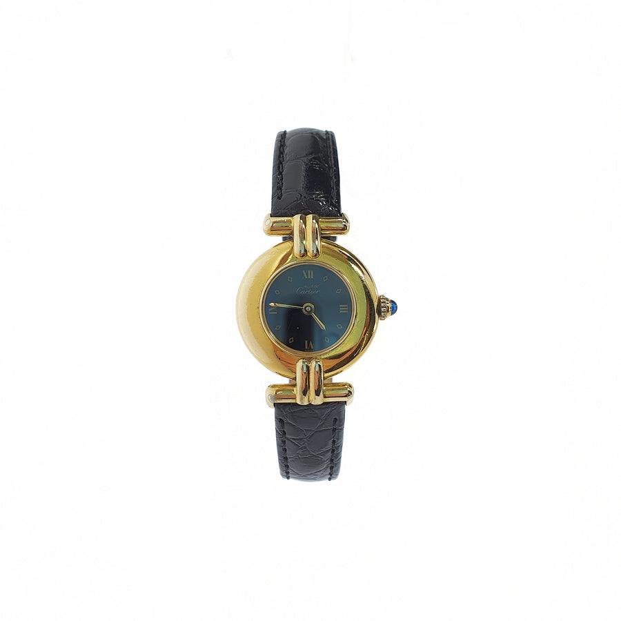 Vermeil Must de Cartier Wristwatch