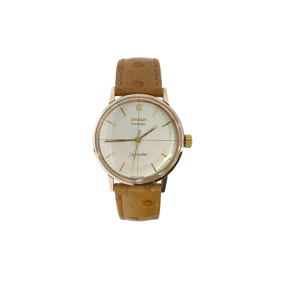 1960's 18ct Gold Omega Seamaster Wristwatch