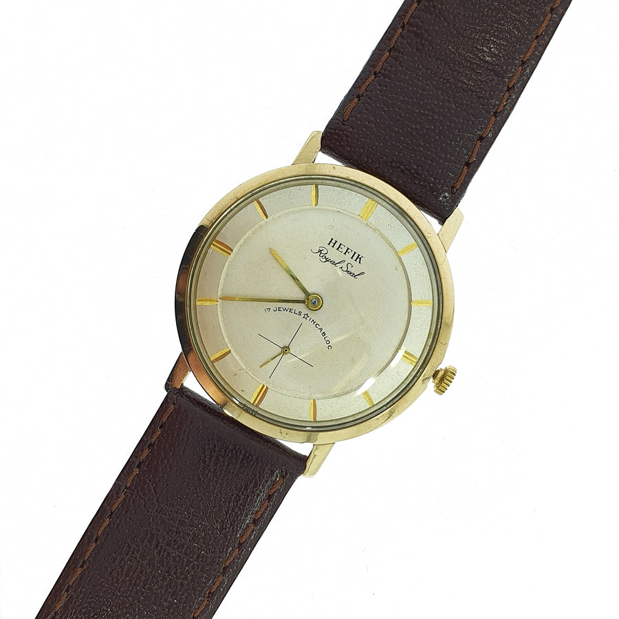 Hefik 9ct Gold Wristwatch