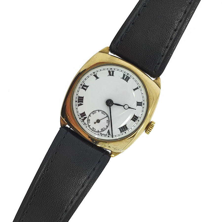 1938 Cyma 9ct Gold Wristwatch