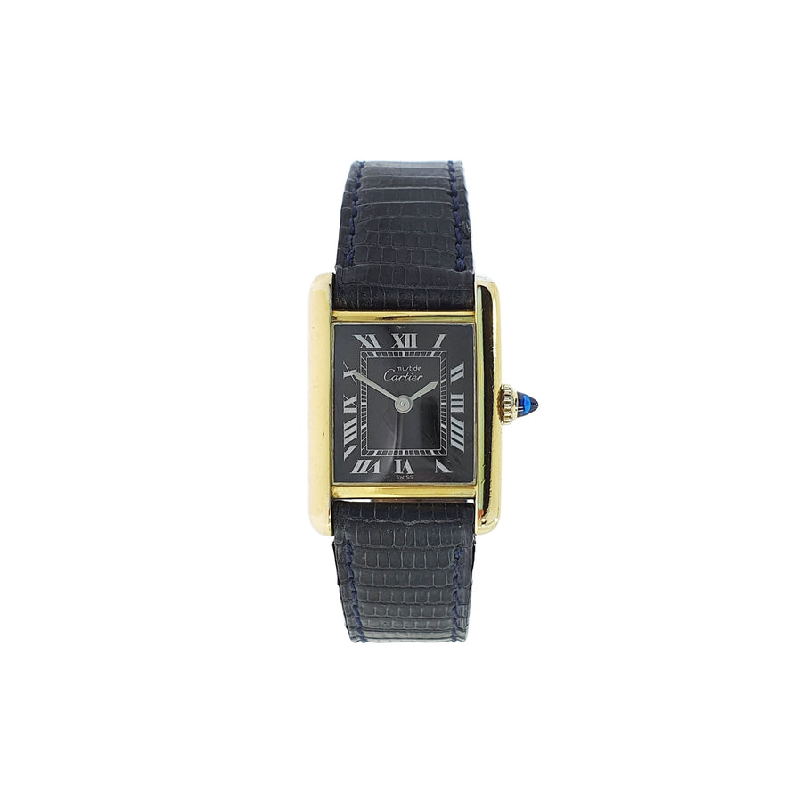 Must De Cartier Tank Wristwatch