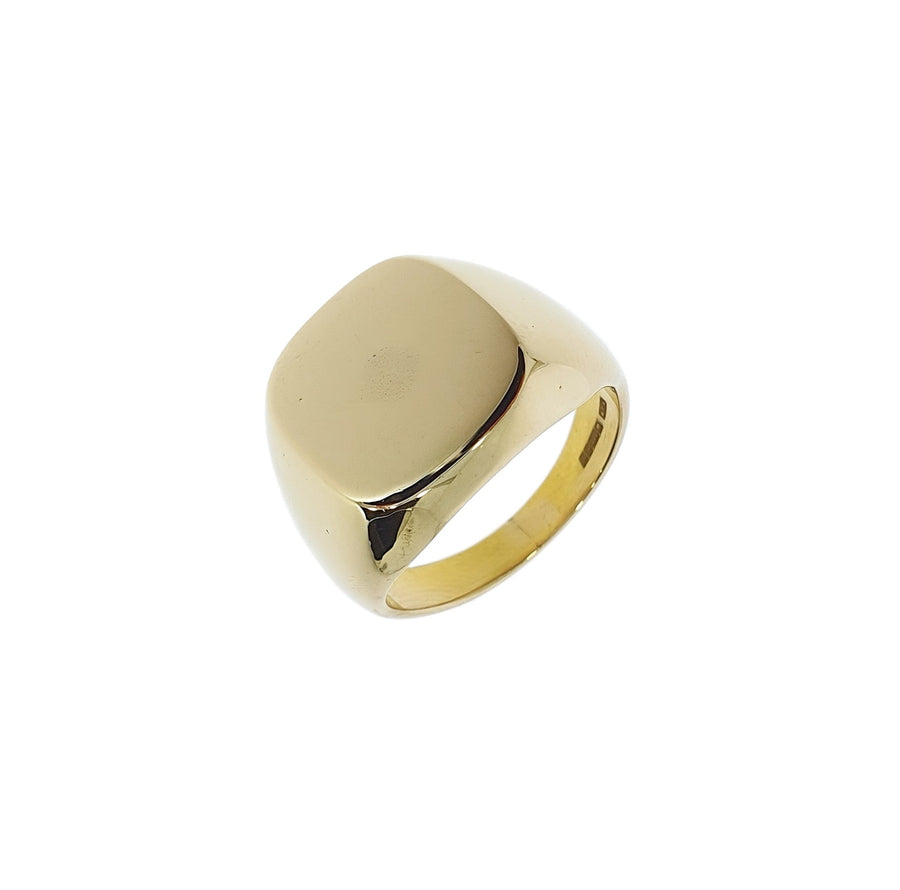 Large Cushion Shaped Signet Ring