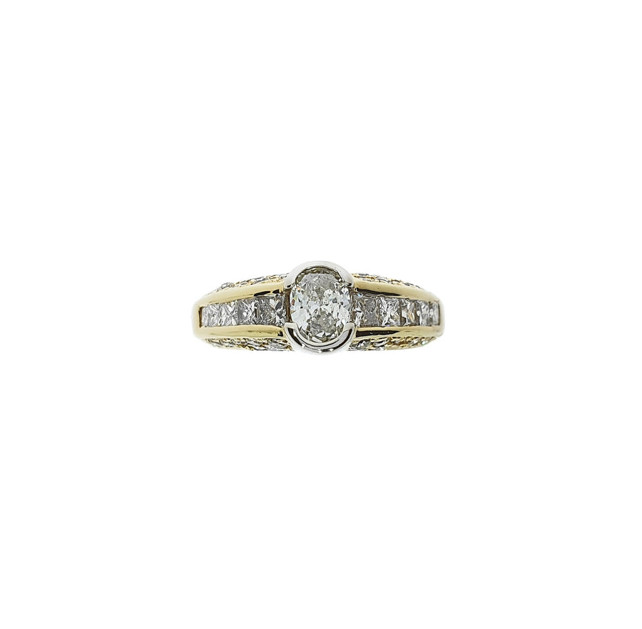 Mixed Cut Diamond Ring