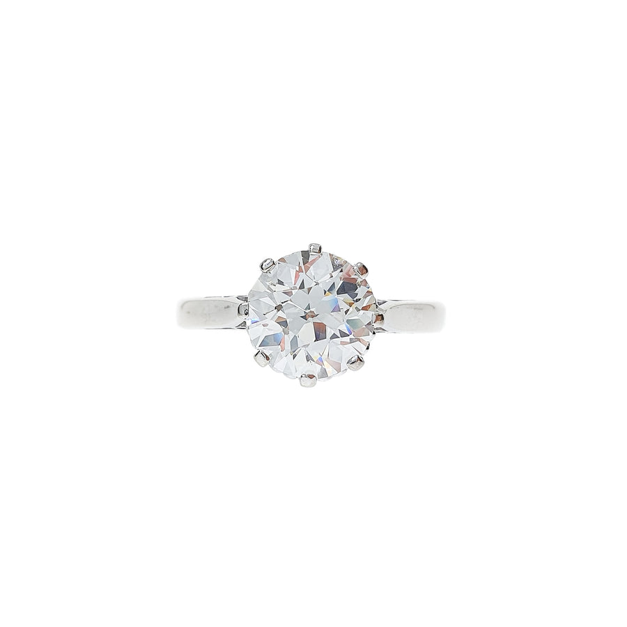 2.02ct Old European Cut Diamond Ring