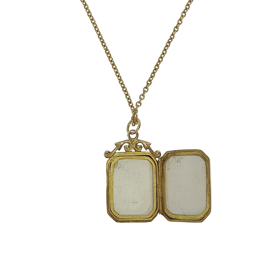 Chester Hallmark Gold Locket