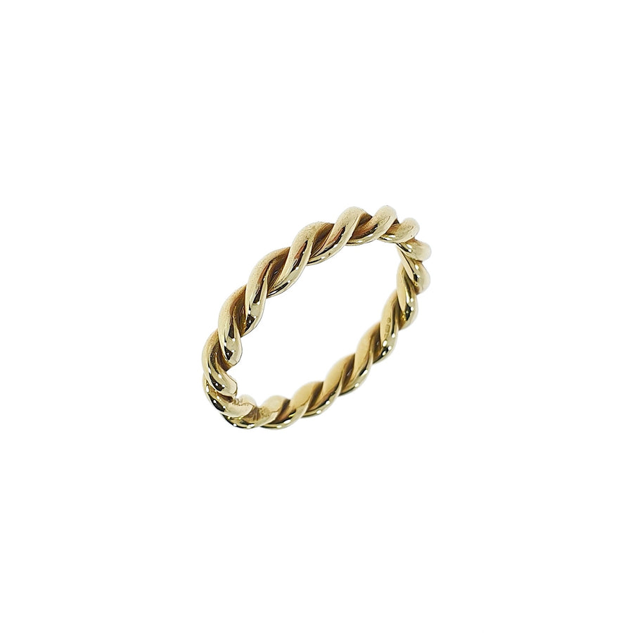 9ct Gold Twist Ring