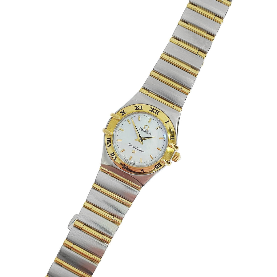 Ladies Bi-Metal Omega Constellation