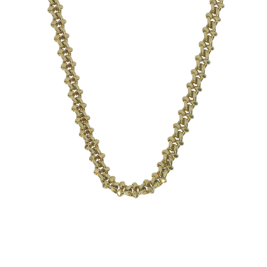 Yellow Gold Fancy Link Chain