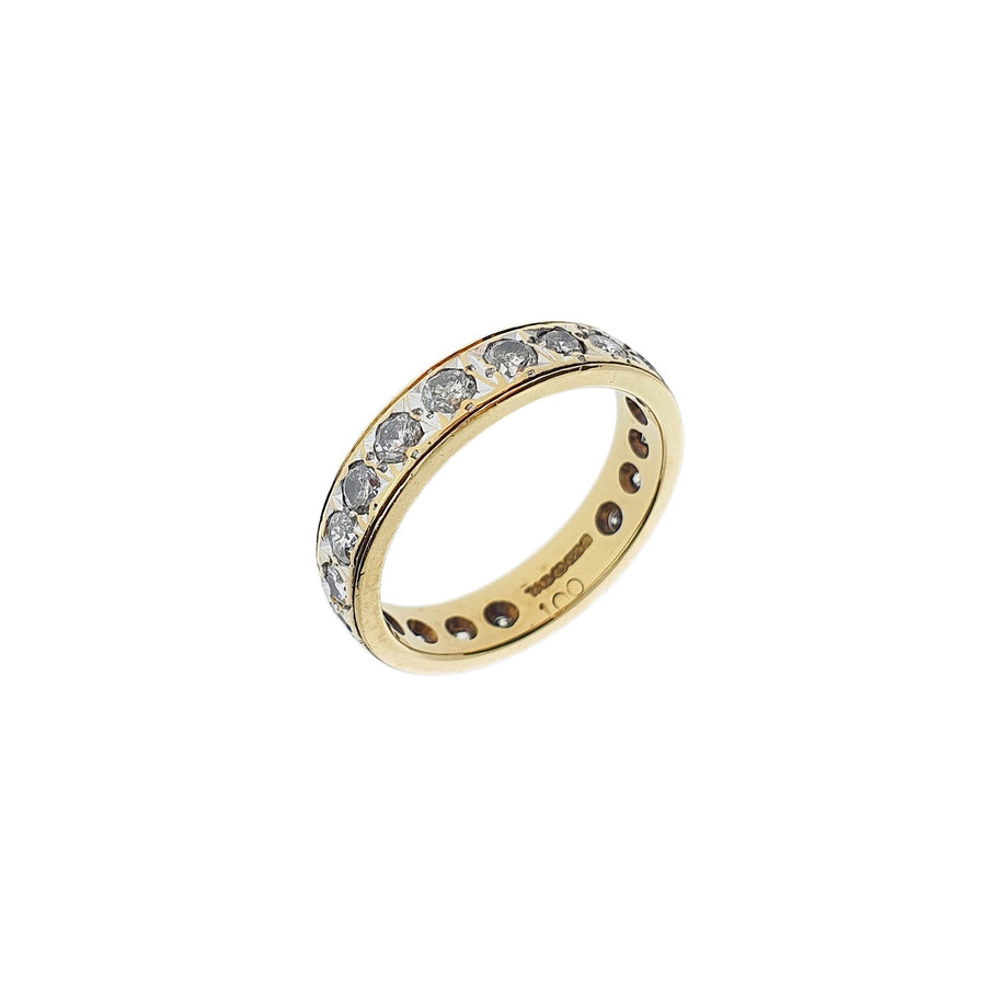 1.00ct Full Diamond Eternity Ring