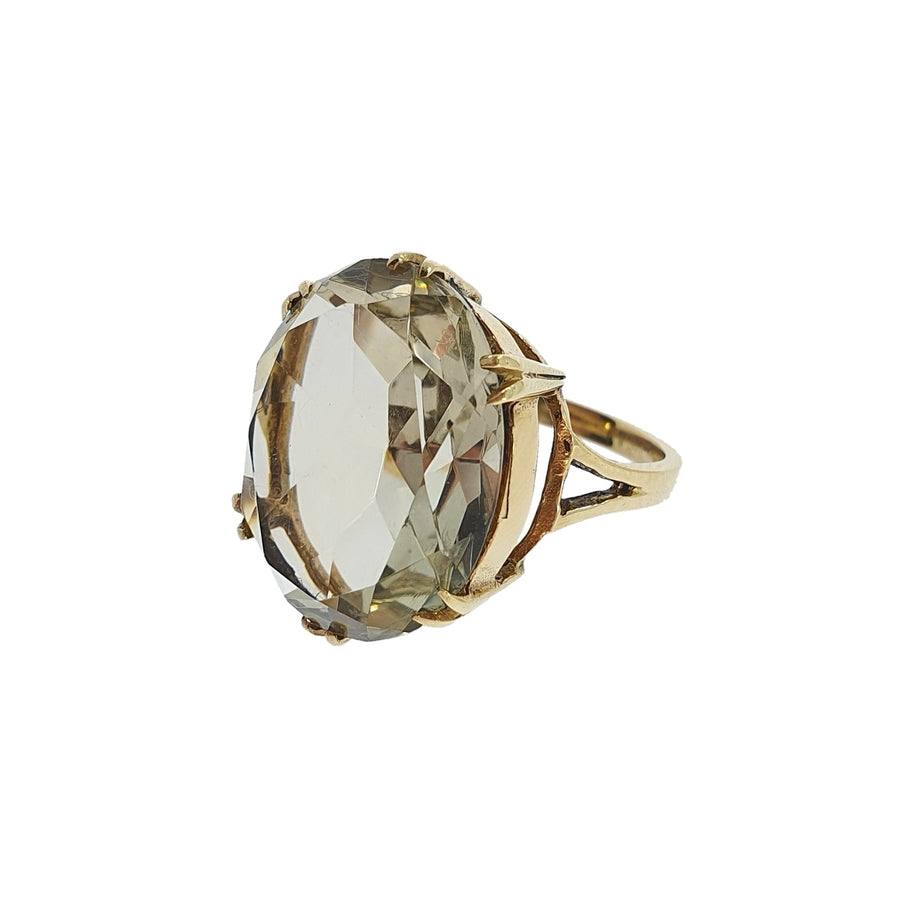 Vintage Smokey Quartz Ring