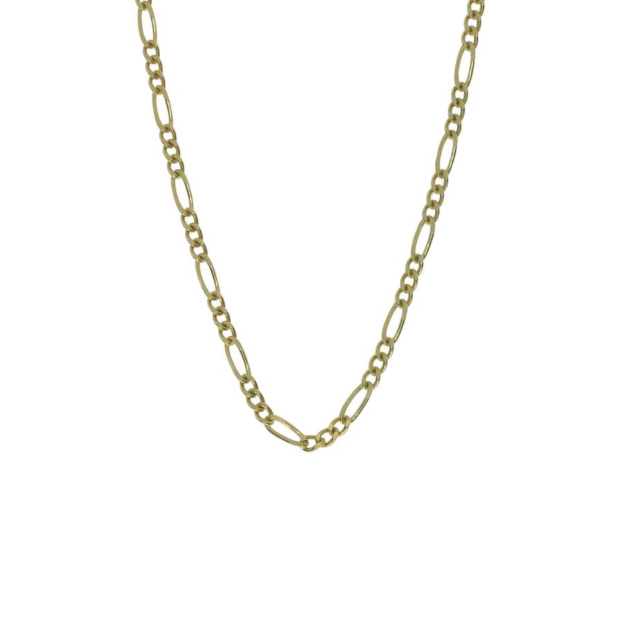 Yellow Gold Figaro Chain
