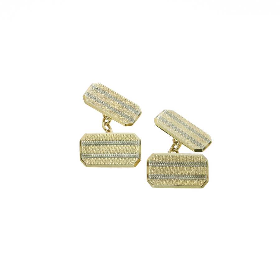 Chester 1946 Gold Cufflinks