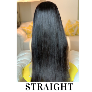Natural Color Frontal Wigs