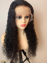 Load image into Gallery viewer, Hawaiian Curly Transparent 13x6 Frontal Wig