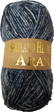 Load image into Gallery viewer, Shetland Heather Aran