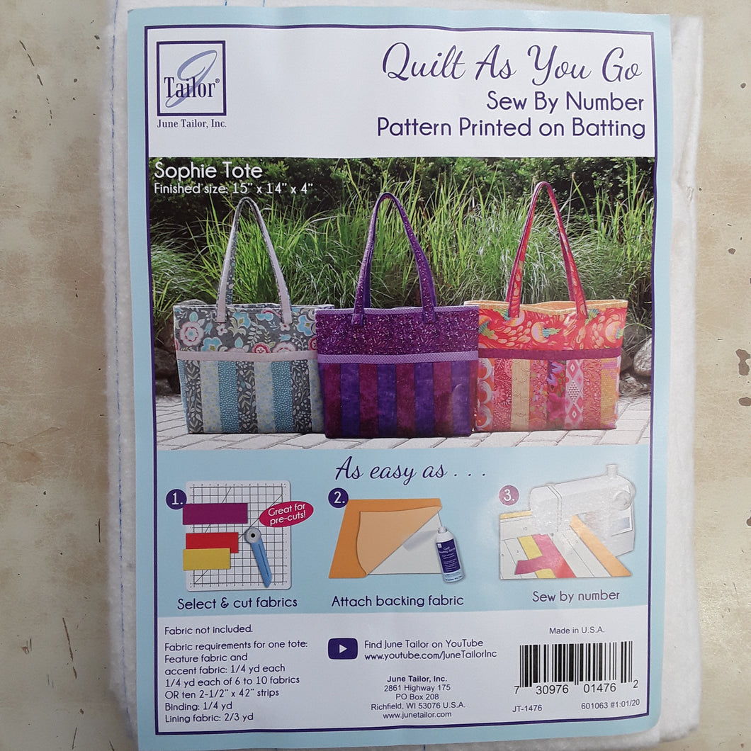 Quilt As You Go kits