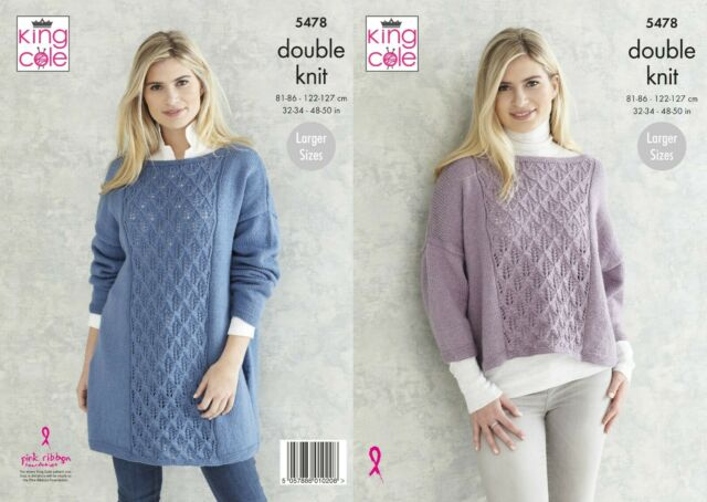 King Cole Subtle Drifter Pattern 5478 - Sweaters