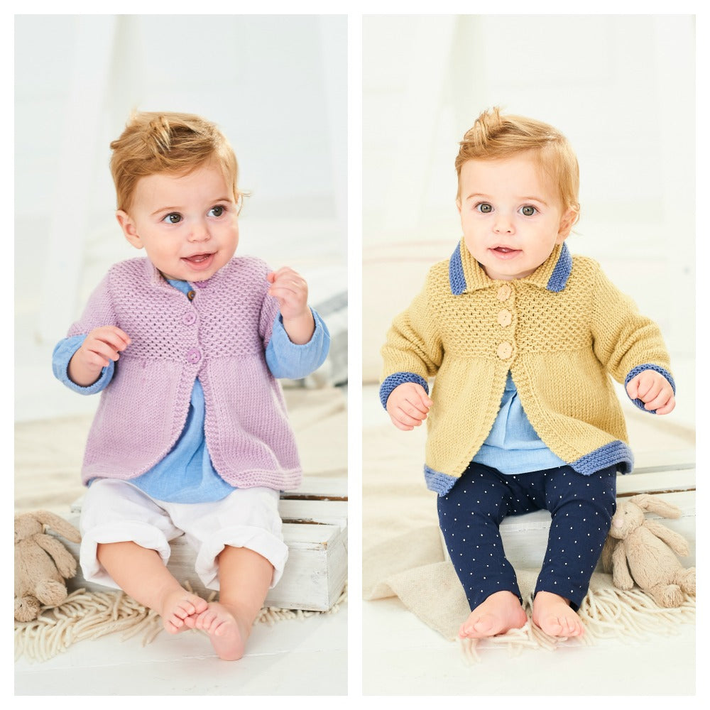Stylecraft Bambino DK Patterns -Coats