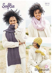 Stylecraft Softie Pattern 9818 - Accessories