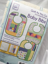 Load image into Gallery viewer, Quilt As You Go Baby Bib