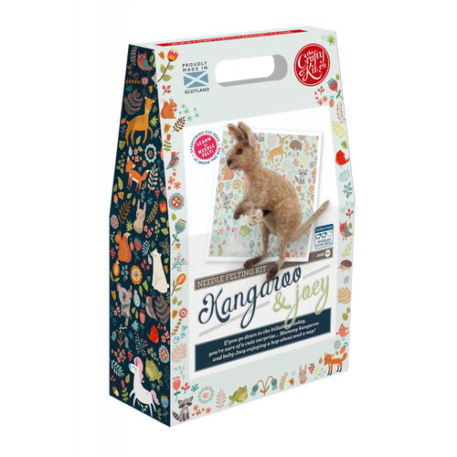 Crafty Kit Company - Needle Felting Kits