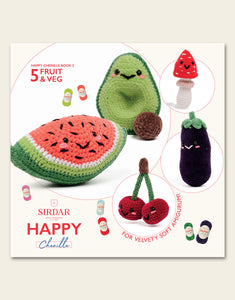 Sirdar Happy Chenille 'Fruit And Veg' Patterns