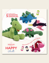Load image into Gallery viewer, Sirdar Happy Chenille 'Roarsome Dinosoars' Patterns