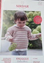 Load image into Gallery viewer, Sirdar Baby DK Knitting Patterns 0-3 years