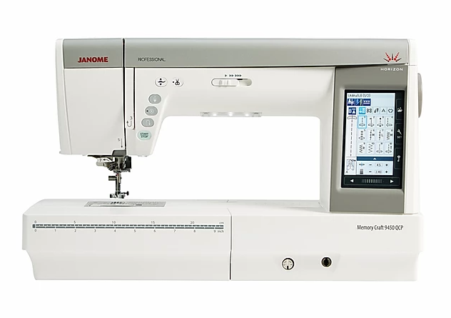 Janome Memory Craft 9450 QCP ex Demo