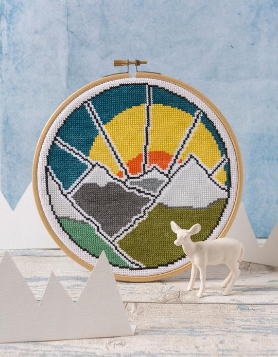 Hawthorn Contemporary Cross Stitch Kit