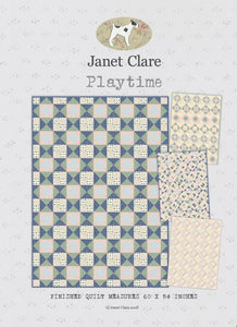 Janet Clare's 'Playtime' Quilt Pattern