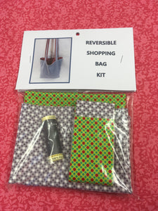 Reversible Shopping Bag Kit
