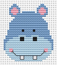 Load image into Gallery viewer, Fat Cat Cross Stitch