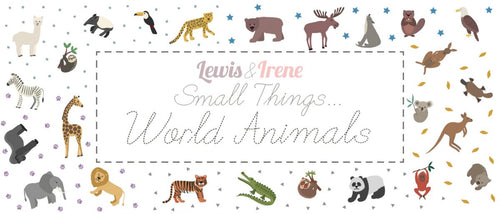 Lewis & Irene Small Things World Animals