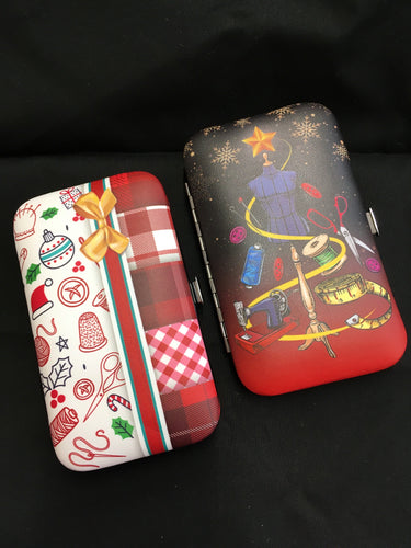 Christmas Travel Sewing Kit