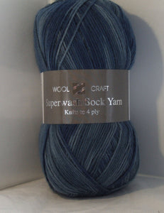 Woolcraft Superwash Sock Yarn