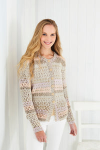 King Cole Subtle Drifter Pattern 5629 - ladies cardigan and top