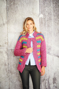 Stylecraft Special XL Tweed Pattern 9809 - Jacket and Sweater