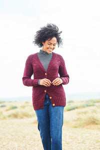 Stylecraft Softie Pattern 9817 - Sweater and Cardigan