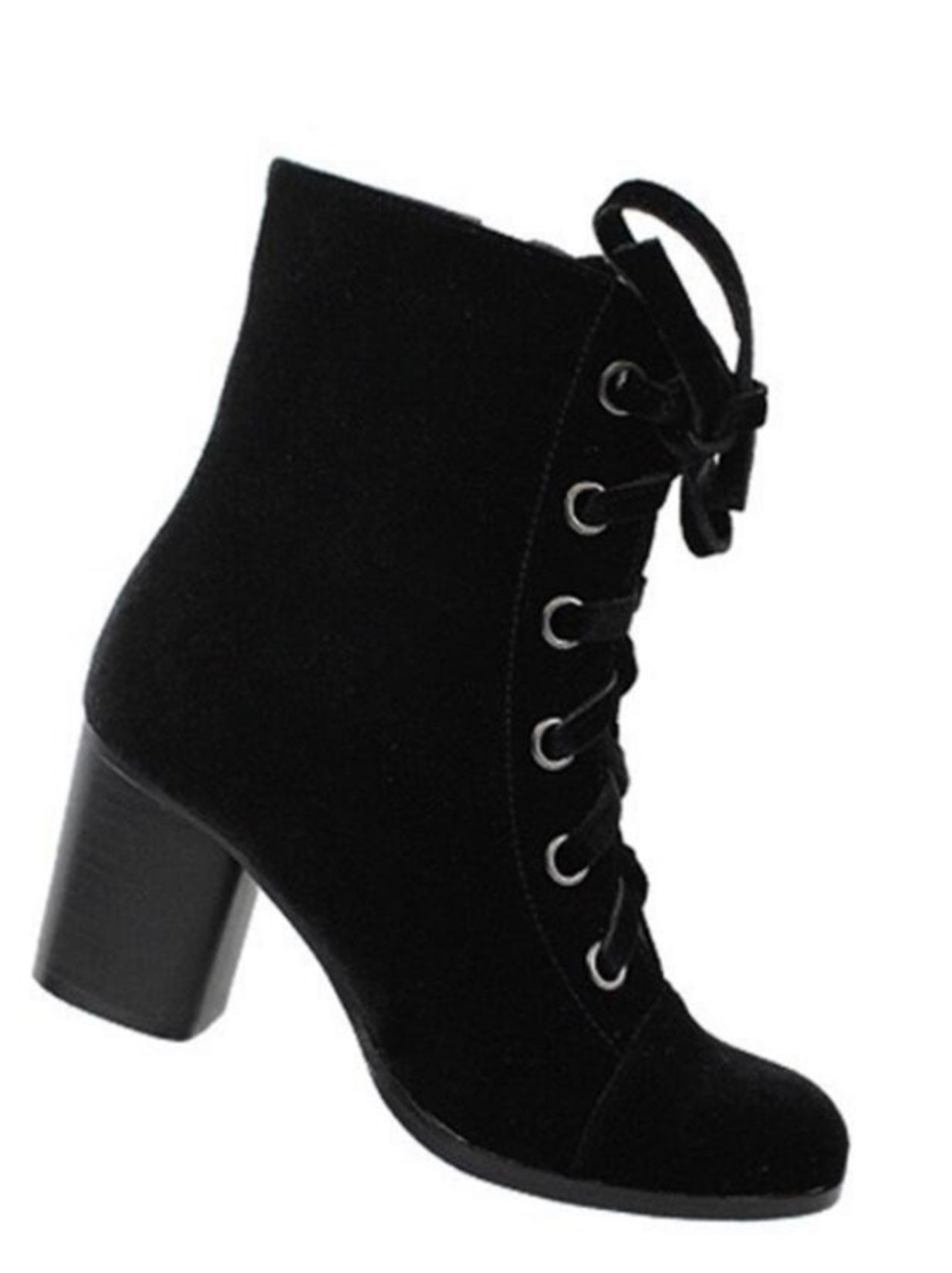 Get Up & Go Black Booties