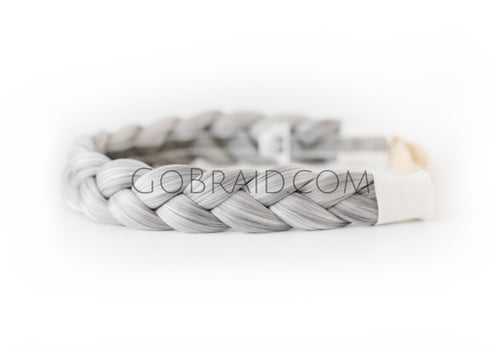12 - Wisdom Gray Dutch GoBraid