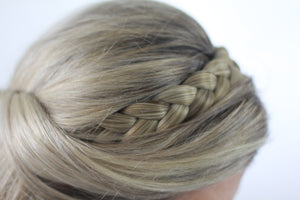 11 - Mixed Dark Blond Dutch GoBraid