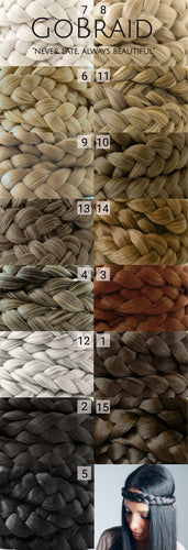 Color Sample Dutch Braid